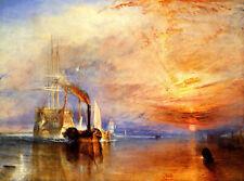 Turner Joseph Mallord William Turner -  The Fighting Temeraire  - 24'  CANVAS