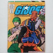 G.I. JOE COMICS MINI MAGAZINE DIGEST # 9 (APR 1988) Marvel Reprints Comic  -FN
