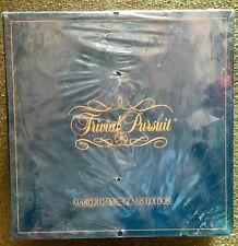 Vintage 1981 Original Trivial Pursuit Master Game Genius Edition SEALED NEW!