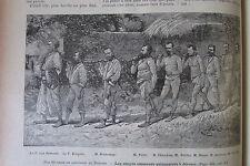 JOURNAL DES VOYAGES N° 700 de 1890 BENIN DAHOMEY CAPTIVITE / CHASSE AU CAIMAN