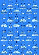 Disney Genie Personalised Gift Wrap - Disney Aladdin Genie Wrapping Paper