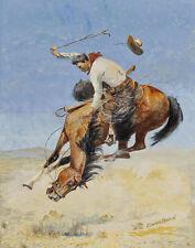 Borein Edward Busting Bronco Print 11 x 14   #3545