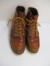 Vintage 1970s RED WING IRISH SETTER Ankle Boots Moc Toe Size 8 - 9 C