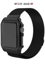 Apple Watch Milanese Loop 38mm stainless steel strap - Black