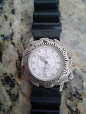 SHARK FIN FREESTYLE WATCH SCUBA DIVERS WATCH BTTRY VINTAGE 1990 FREE DIVE KNIFE