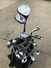 LADIES COMPLETE GOLF SET WITH BAG-DRIVER, FAIRWAY WOODS, IRONS,WEDGES, & PUTTER