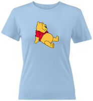 Disney Winnie the Pooh Bear Classic Cartoon Girls Juniors Women Tee T-Shirt S~2X
