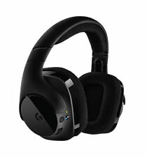 Logitech G533 Wireless Black Gaming Headset for PC DTS 7.1 Surround Sounds, New