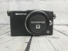 Olympus PEN mini E-PM1 12.3MP Mirrorless Digital Camera Body EUC + Card