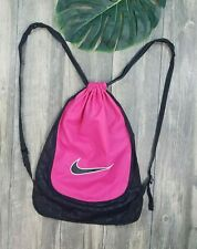 Nike Drawstring Bag Backpack Pink / Black