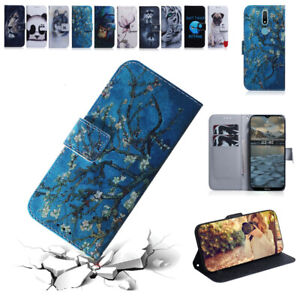 For Nokia 2.4 3.4 5.3 1.3 6.2 7.2 3.2 2.2 Luxury Case Flip Wallet Phone Cover