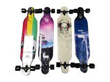 New Drop Through Skateeboard  Longboard -Complete