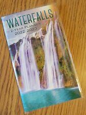 2022 2023 Waterfalls 2 Year Pocket Monthly Planner Calendar 65 X 375