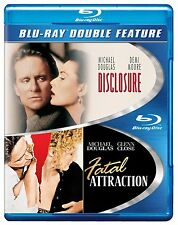 DISCLOSURE / FATAL ATTRACTION -  Blu Ray - Sealed Region free for UK