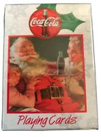 Nostalgic Christmas Limited Edition Coca Cola Playing Card Bicycle
