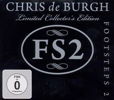 "CHRIS DE BURGH ""FOOTSTEPS 2"" (CD+DVD) LIMITED EDT NEU"