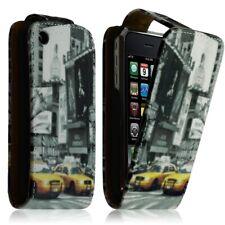 Housse Coque Etui à Clapet avec motif LM06 pour Apple iPhone 3G / 3GS