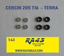 1/43 Cerchi Wheels Peugeot 205 T 16 Land