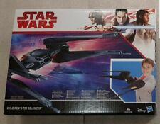 KYLO REN'S TIE SILENCER Caza Angular STAR WARS. Nave juguete de Disney Hasbro.