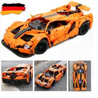 Custom Technic GT racecar Auto 42056 42083 42110 42115 Blöcke Bausteine MOC