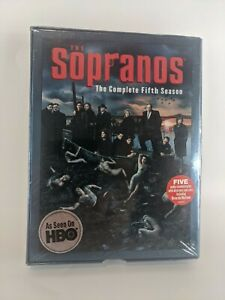 Sopranos The Complete Fifth Season 5 DVD Brand New/Sealed 4-Disc Set HBO