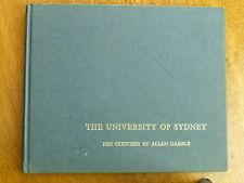 The University of Sydney: Pen sketches by Allan Gamble (Hardback, c.1968)