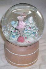 HALLMARK TENDER TOUCHES WATER Snow GLOBE The NUTCRACKER Sugar Plum Fairy Bunny