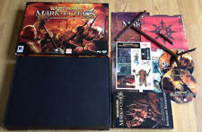 Warhammer Mark of Chaos Collector's edition Big Box Pour PC RARE