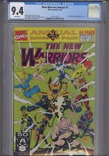 New Warriors Annual #1 CGC 9.4 1991 Gold Ediiton  Marvel Comic:  New Frame