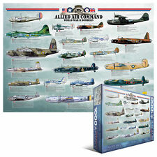Eurographics puzzle de 1000 pièces Air Command-World War II Bombardiers