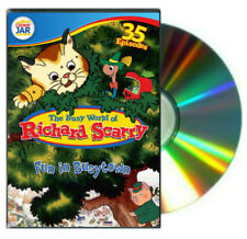 The Busy World of Richard Scarry Volume 2 Fun in Busytown DVD 35 episodes NEW