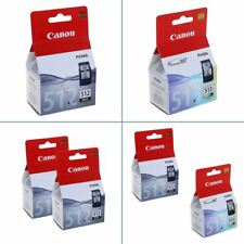 Original Canon PG-512 & CL-513 Ink Cartridges - For Canon PIXMA Printers