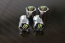 Bouchon de Valve en alu - Monster Energy - Lot de 4