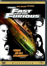 The Fast and the Furious (DVD, 2002, Widescreen Collector's Edition) NEW