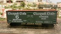 Roundhouse MDC Clicquot Club Ginger Ale Old Time 36'  Reefer, Upgraded, Exc