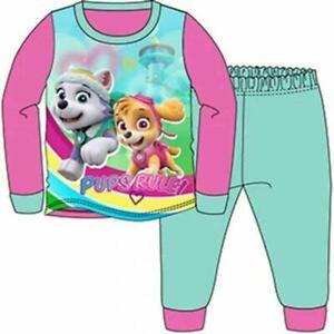 BNWT Girls Paw Patrol Long Pyjamas - Age 18 Mnths to 5 Yrs - Free 1st Class Post