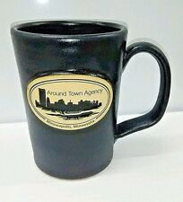 Around Town Agency Minneapolis Skyline Deneen Pottery Coffee Mug Media Escort
