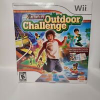 Active Life Outdoor Challenge Game Mat Controller NIB Sealed NINTENDO Wii NEW