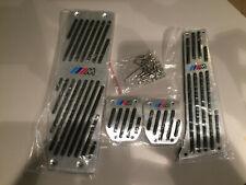 Bmw pedaliera ///m power completa in alluminio manuale-