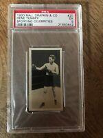 1930 MAJ Drapkin & Co GENE TUNNEY #20 PSA 5 EX Sporting Celebrities Boxing