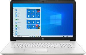 New HP 17-by4633dx 17.3'' FHD IPS Laptop i5-1135G7 8GB 256GB SSD Iris Xe W10S