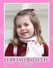 PRINCESS CHARLOTTE - 3 years old - Flexible Fridge MAGNET