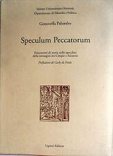 GENOVEFFA PALUMBO SPECULUM PECCATORUM FRAMMENTI DI STORIA TRA '500 '600 LIGUORI