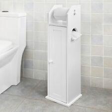 SoBuy® Armoire Salle De Bain Toilette Étagère Support Papier Wc,FRG135-W FR
