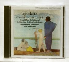 WAGNER ANDREAS ALBERT - WAGNER complete overtures vol.1 CPO CD NM
