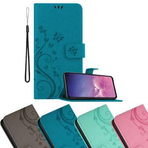 Funda Carcasa para Samsung Galaxy S10e Case Cover Diseño de Flor