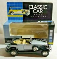 CLASSIC CAR 1:38 DIECAST 1931 OPEN GRAND TOURER WITH OPENING DOORS - BOXED