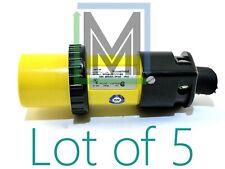 9p54u2t1100 Russelstoll 50a 250vac 3p4w Ip67 Watertight 4 Pole Male Plug 5pcs