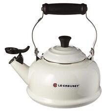 Le Creuset 2.2 Quart White Enameled Tea Kettle Kitchen Tea Pots Party