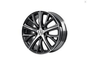 Acura genuine OEM 2016 - 2018 ILX 18INCH DIAMOND CUT ALLOY WHEEL 08W18-TX6-201
